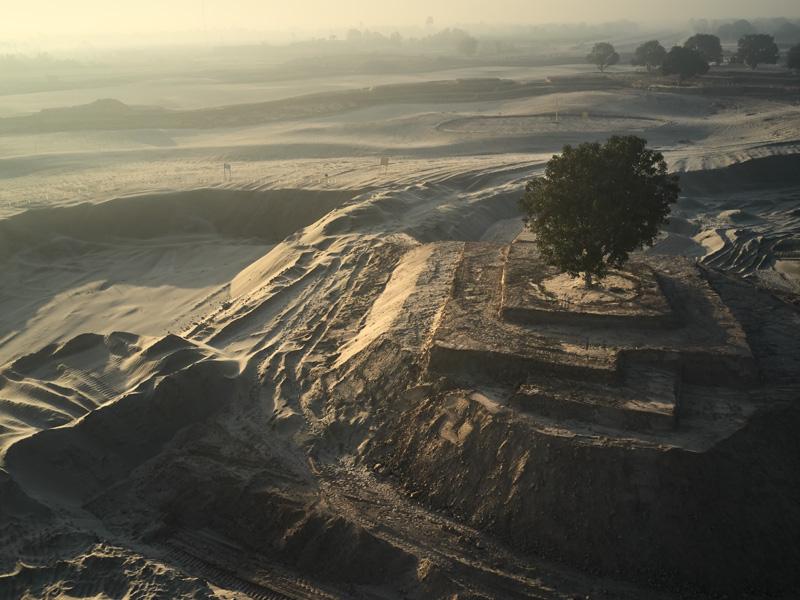 Rumanza golf course, Multan, Pakistan constructed by Desert Group